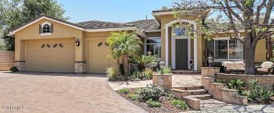 Newbury Park Single Family Home For Sale: 3858 Briar Ridge Court