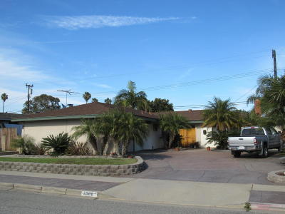 Ventura Single Family Home Active Under Contract: 1306 Rugby Avenue