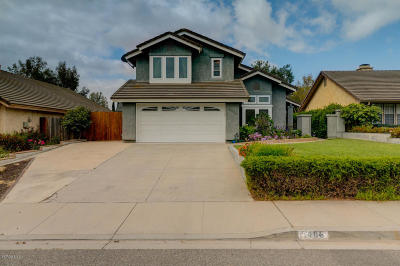 Camarillo Single Family Home Active Under Contract: 5486 Quailridge Drive