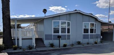 Santa Paula Mobile Home For Sale: 1500 Richmond Road #60