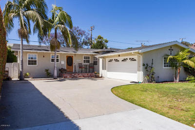 Ventura Single Family Home Active Under Contract: 6901 Crowley Avenue