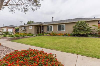 Camarillo Single Family Home For Sale: 2512 Hartnell Street