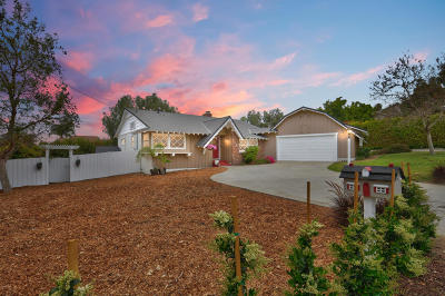 Camarillo Single Family Home Active Under Contract: 487 W Loop Drive