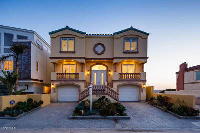Single Family Home For Sale: 3761 Ocean Drive