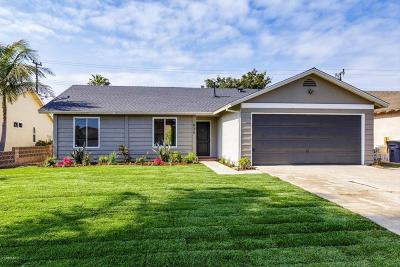Oxnard Single Family Home For Sale: 835 Avalon Way