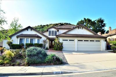 Thousand Oaks CA Single Family Home For Sale: $929,000