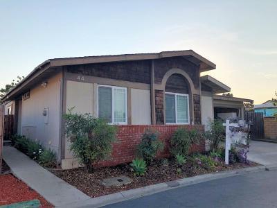 Ventura Single Family Home For Sale: 1025 Cachuma Avenue #44