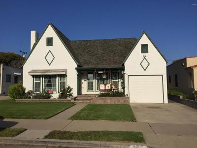 Ventura Single Family Home For Sale: 482 S Catalina Street