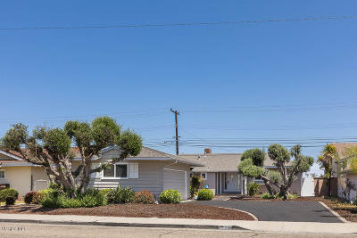 Oxnard Single Family Home For Sale: 935 Devonshire Drive