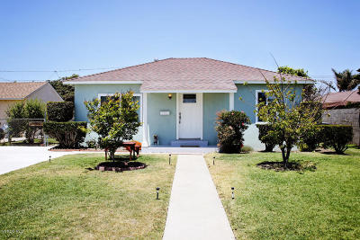 Oxnard Single Family Home For Sale: 415 W Juniper Street