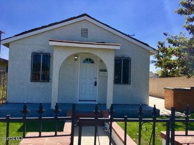 Oxnard Single Family Home For Sale: 226 Hayes Avenue
