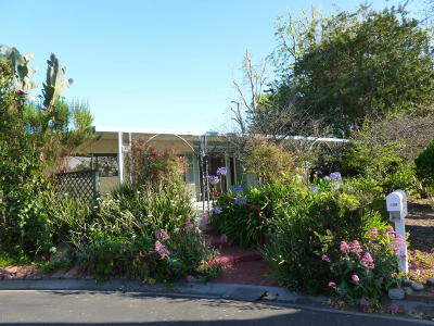 Ventura Mobile Home Active Under Contract: 158 Keats Circle #158
