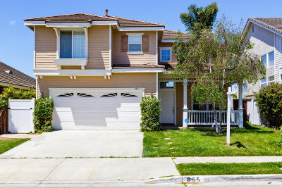 Ventura Single Family Home Active Under Contract: 655 Bennett Avenue