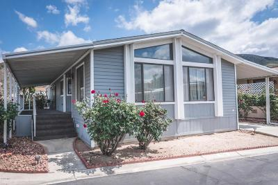 Ventura County Mobile Home Active Under Contract: 250 E Telegraph Road #334