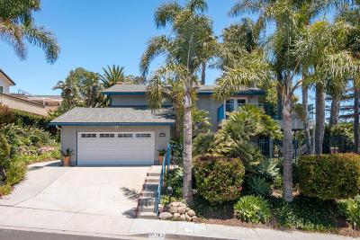 Ventura Single Family Home Active Under Contract: 762 Skyline Road