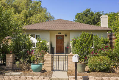 Ojai Single Family Home For Sale: 207 Topa Topa Drive