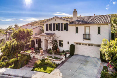Simi Valley Single Family Home For Sale: 2279 Silverstar Street