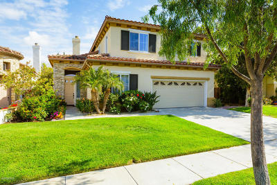 Camarillo Single Family Home Active Under Contract: 5115 Corte Tiara