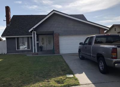 Fillmore Single Family Home For Sale: 301 Del Valle Drive