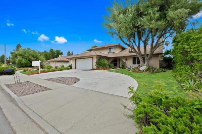 Thousand Oaks Single Family Home For Sale: 262 W Avenida De Los Arboles