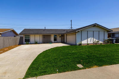 Oxnard Single Family Home Active Under Contract: 2150 Isabella Street