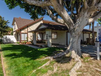 Santa Paula Single Family Home Active Under Contract: 117 Cameron Street