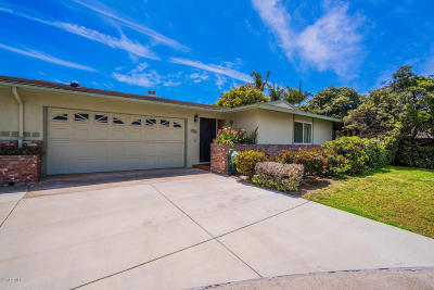 Port Hueneme Single Family Home Active Under Contract: 316 E Garden Green