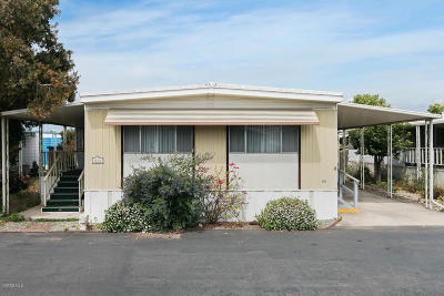 Ventura Mobile Home Active Under Contract: 140 Gay Drive