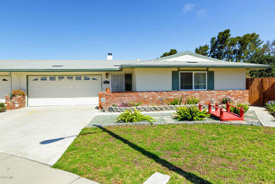 Port Hueneme Single Family Home Active Under Contract: 2571 Neptune Place