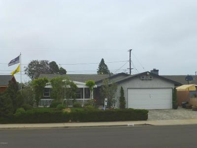 Port Hueneme Single Family Home Active Under Contract: 766 Polaris Way