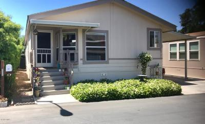 Ojai Mobile Home Active Under Contract: 1975 Maricopa Highway #73