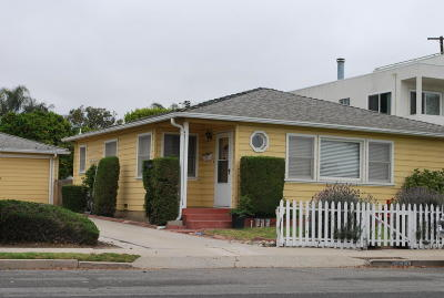 Ventura Single Family Home For Sale: 2433 Channel Drive