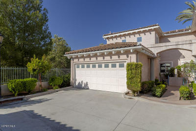 Moorpark Single Family Home Active Under Contract: 4198 Hillbrook Court