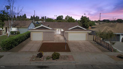 Ventura Single Family Home For Sale: 1354 Finch Avenue