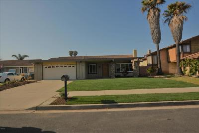 Oxnard Single Family Home Active Under Contract: 1301 Juneberry Place