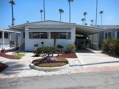 Ventura Mobile Home Active Under Contract: 1215 Anchors Way #103