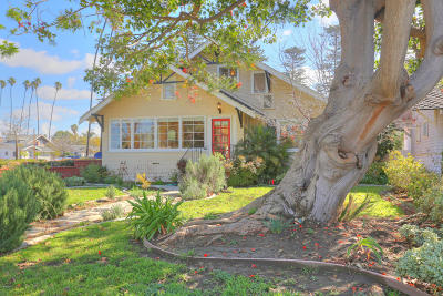 Oxnard Single Family Home Active Under Contract: 320 S F Street