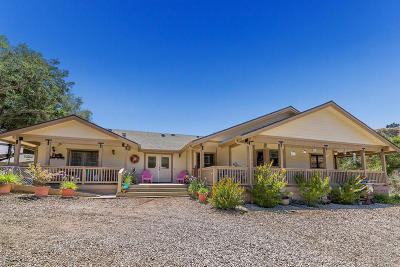 Santa Paula Single Family Home For Sale: 7322 Wheeler Canyon Road