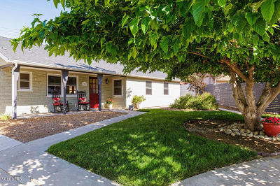 Ojai Single Family Home For Sale: 1303 Sunset Place