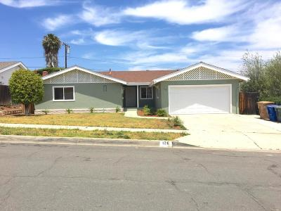 Ventura Single Family Home For Sale: 126 Reata Avenue