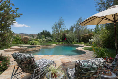 Calabasas Single Family Home For Sale: 3910 Leighton Point Road