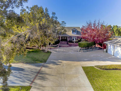 Camarillo Single Family Home Active Under Contract: 607 Crestview Avenue