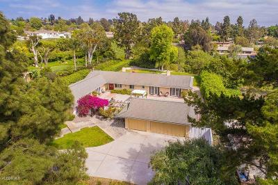 Camarillo Single Family Home Active Under Contract: 1782 Ramona Drive