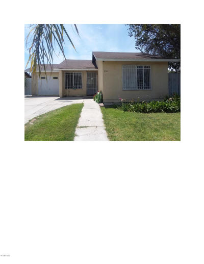Santa Paula  Single Family Home Active Under Contract: 322 13th Street