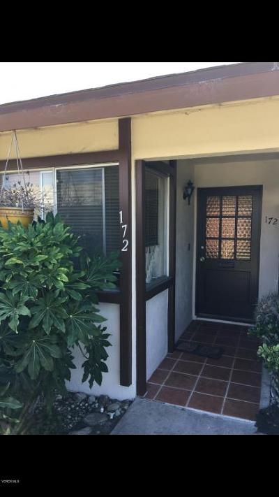 Port Hueneme Single Family Home For Sale: 172 E Garden Green