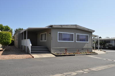 Ventura Mobile Home For Sale: 329 Rodgers Street