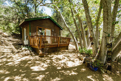 Ojai Single Family Home For Sale: 3214 Matilija Canyon Road