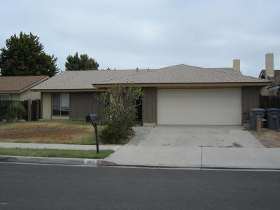 Oxnard Single Family Home Active Under Contract: 1401 Juneberry Place