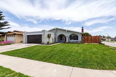 Oxnard Single Family Home For Sale: 3090 Net Court