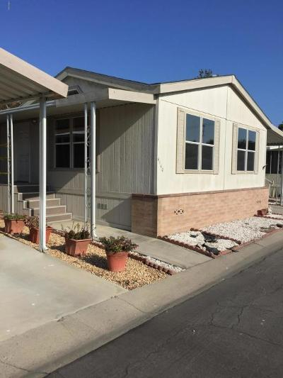 Oxnard Mobile Home Active Under Contract: 4140 Petit Drive #38